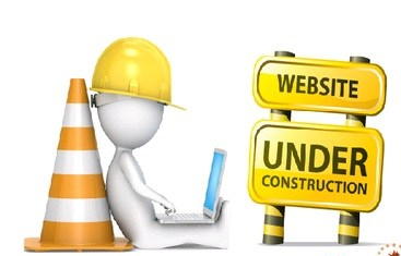 page under of construction